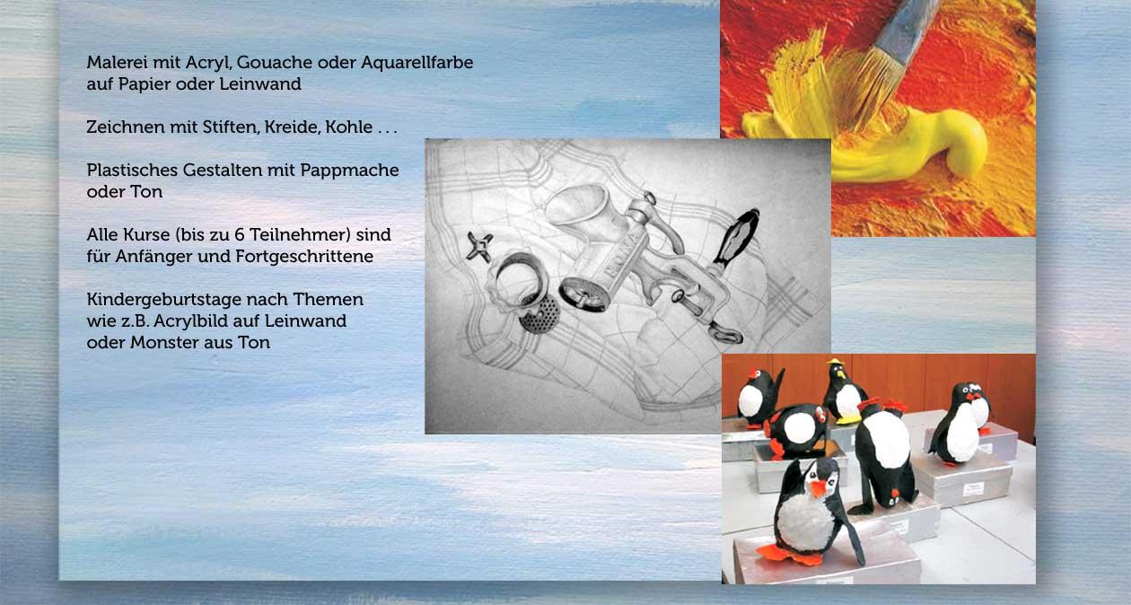 Malen lernen mit acryl gouache oder aquarellfarbe auf papier oder leinwand plastisches - Malen mit acryl auf leinwand ...